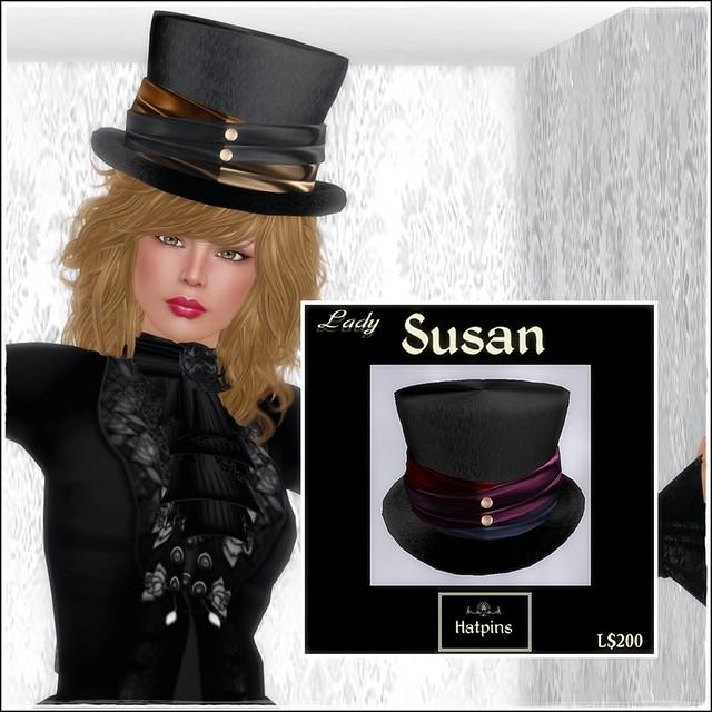 Hatpins - Lady Susan