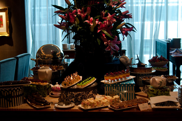 Chocolate High Tea at the Langham