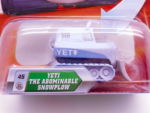 disney cars lenticular Yeti the abominable snow plow (2)