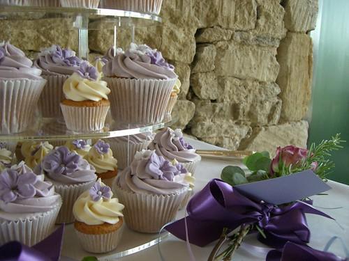 Cirencester Cupcakes - Katherine & Adrian's Wedding Cupcakes