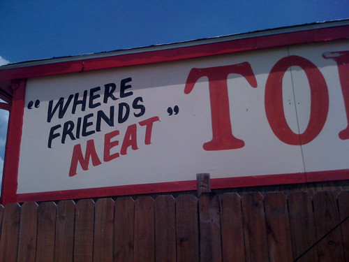 """Where Friends """"Meat"""", Memphis, Tenn."""