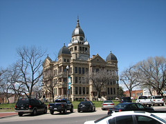 Denton County Courthouse long