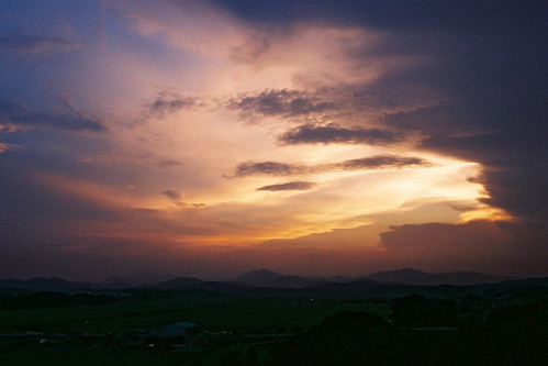 Sunset from Tamaru Castle