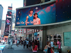 Hello from Times Square
