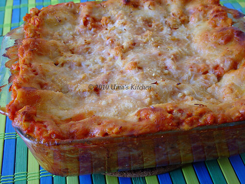 Chicken Lasagna 2