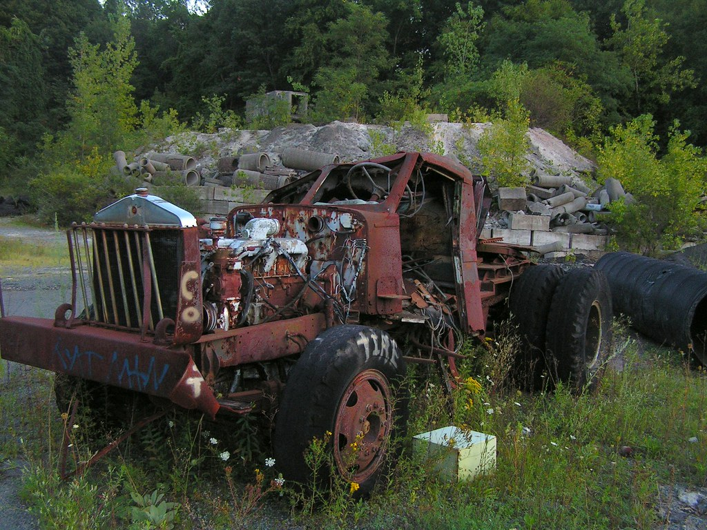 Truck, Tilco Quarry, Newington, Conn.