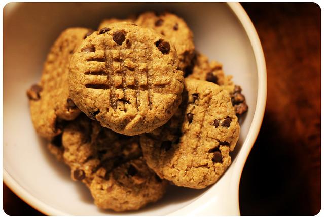 PB Chocolate Cookies