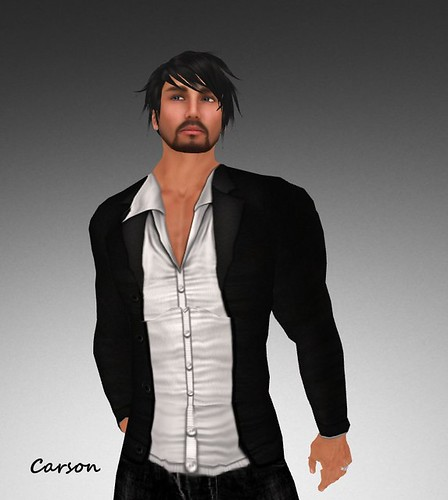 INDI Designs - Vance Part 2  Black Jacket and White Shirt