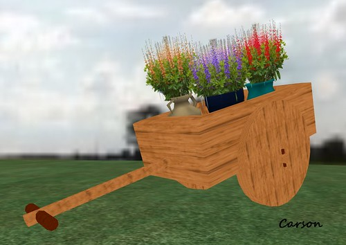 Arte's Fato Cart Flowers