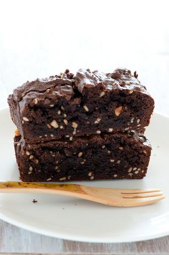 peanut butter brownies-3