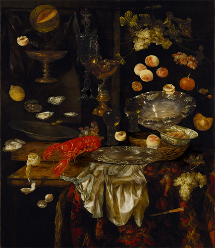 Banquet Still Life with a Mouse Goes into Zero Gravity Joel J. Rane  by In Still Life.