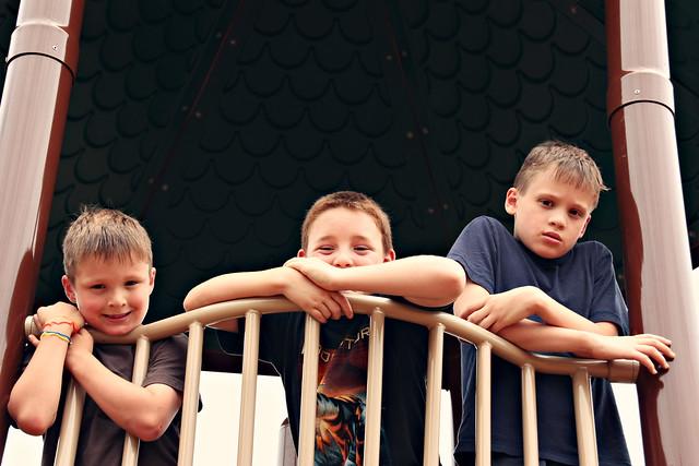Alex, Adam and Daniel