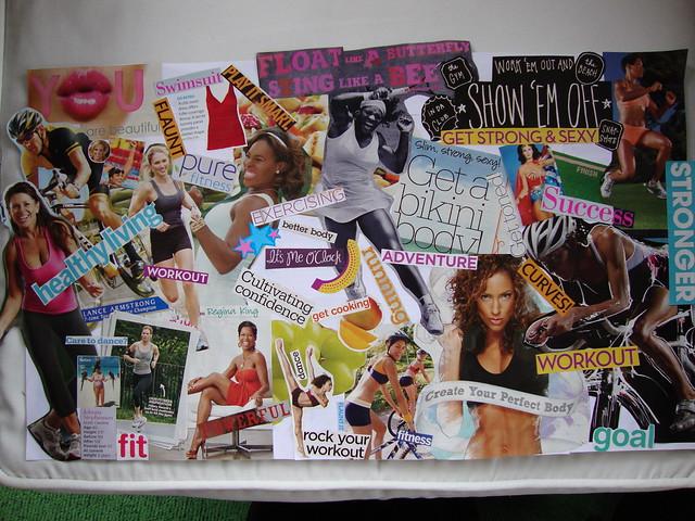 Motivational Vision Collage
