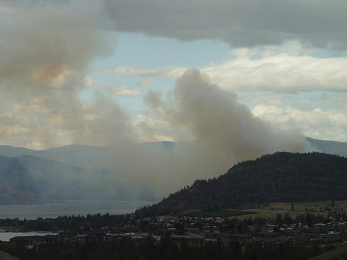 Peachland Fire, 2010