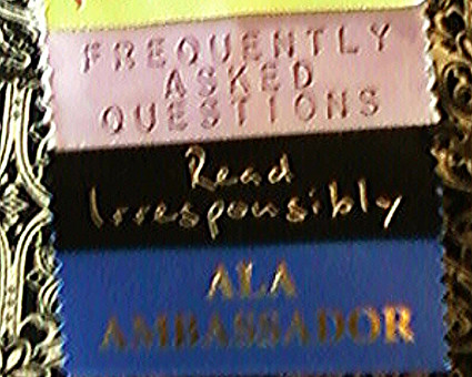 ALA Ambassadors are used to attendees asking FAQs by @librarian