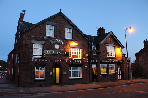 The Blue Barrel, Northwich