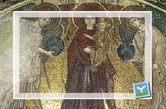 Larnaka Angeloktisti church Mosaic