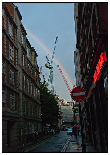 Rainbow over Soho