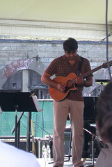 Rez Abbasi at the Newport Jazz Festival