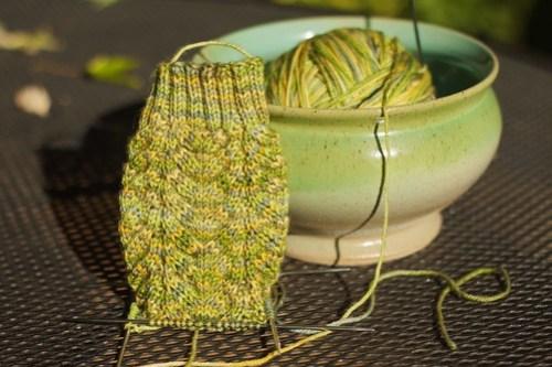 Corn on the Cob Sock: modify