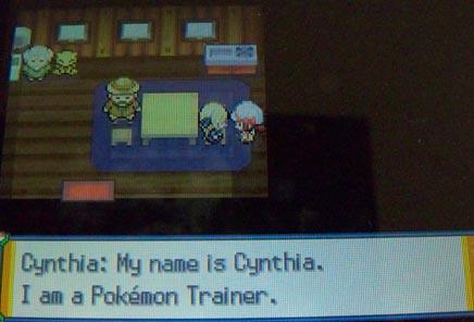 It's Cynthia!