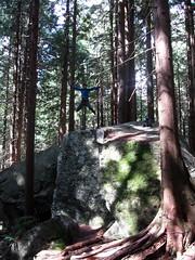 Giant Boulder Leap
