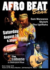 Afro Beat Band - Cabana