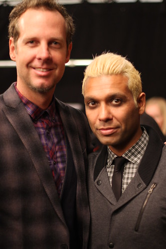 Tom Dumont and Tony Kanal Backstage at L.A.M.B