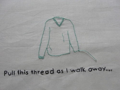 If you want to destroy my sweater...