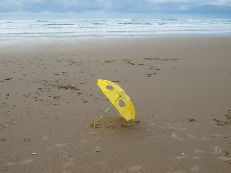 yellow Hipster Umbrella