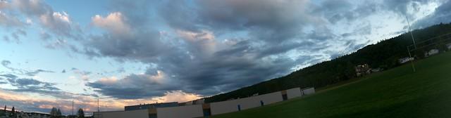 Clouds in Moran Park