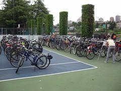 Canada Day Bike Valet Parking