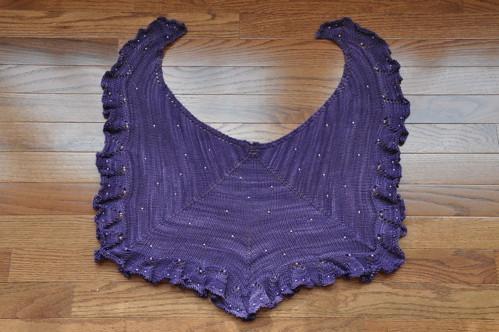 Medusa Cascade shawl.