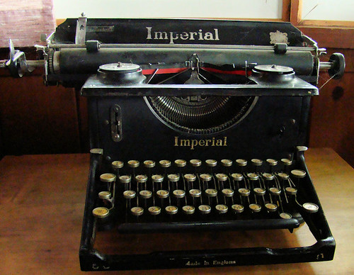 Imperial 58 typewriter two by William J. Gibson, the Canuckshutterer