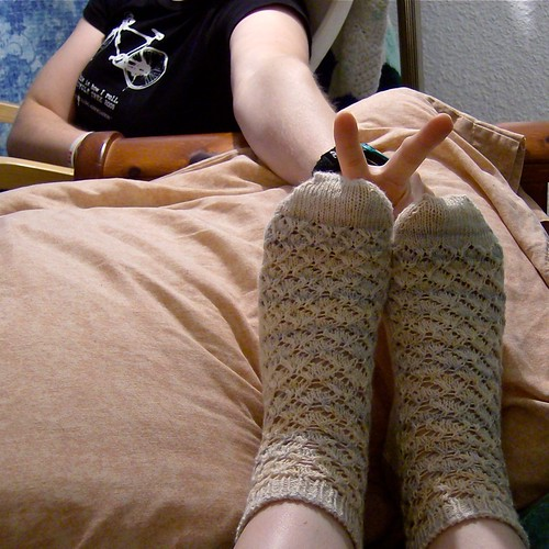 Coupling Socks with rabbit ears