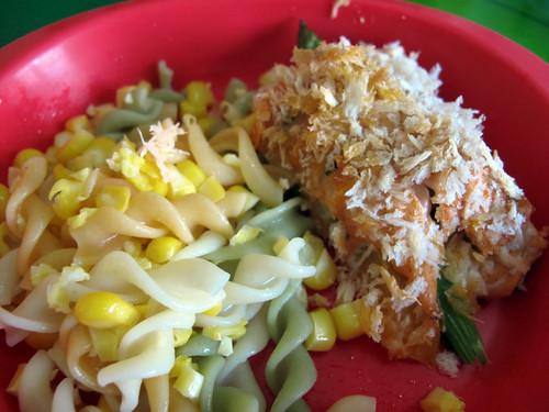 Breadcrumb & Salmon Veg Roll 4