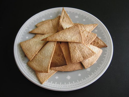 Tortilla triangles