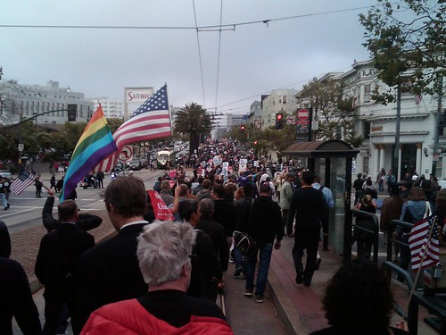 Prop 8 victory! Thousands march in San Francisco (August 4, 2010)