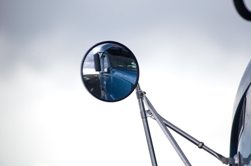 Big truck mirror