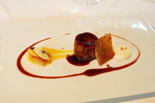 Lamb, Peach and Apricot Terrine