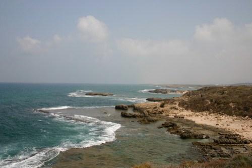 North from Nahsholim