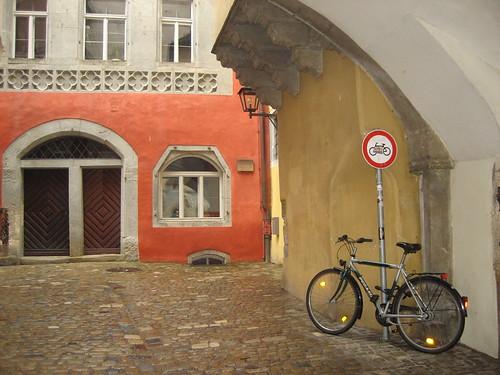 Bike in Regensburg