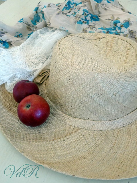 Cappello e mele