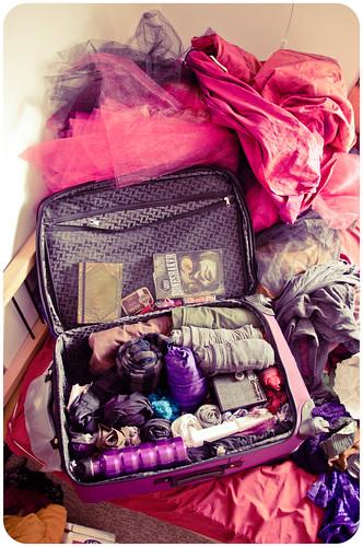 burning man suitcase: 99% packed!