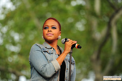Chrisette Michele on Summer Stage 2010