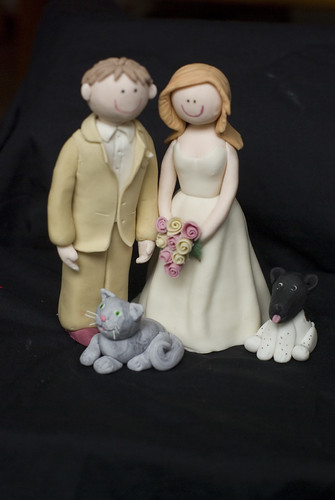 Bride and Groom Toppers