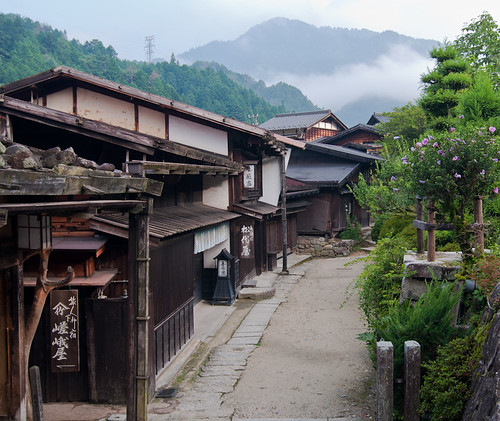 The old post town of Tsumago