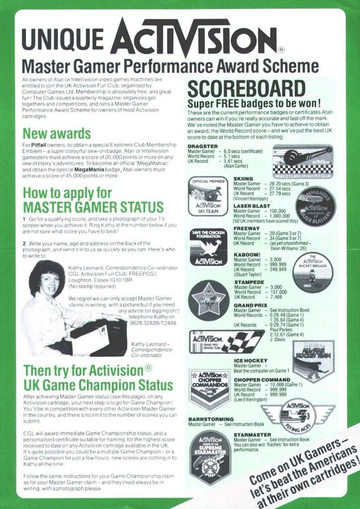 UK Master Gaming scoreboard
