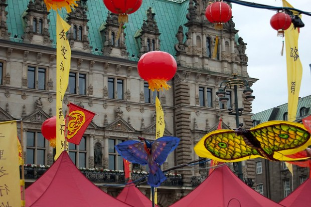 Chinese Festival at the Rathaus