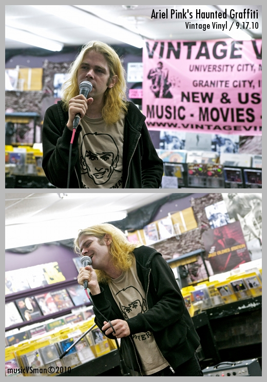Ariel Pink's Haunted Graffiti @ Vintage Vinyl - 9.17.10